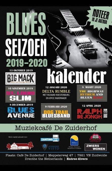 Blues seizoen 2019-2020